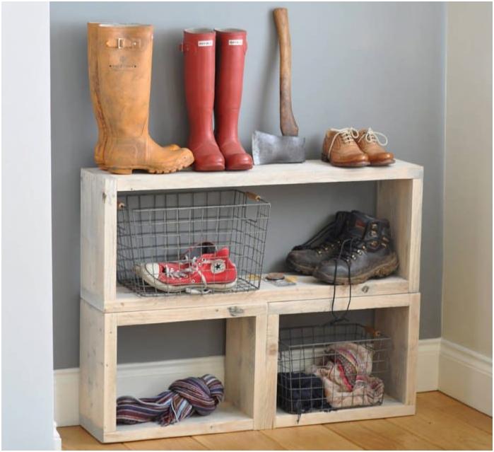 кутии за съхранение на обувки