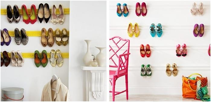 стрехи за съхранение на обувки
