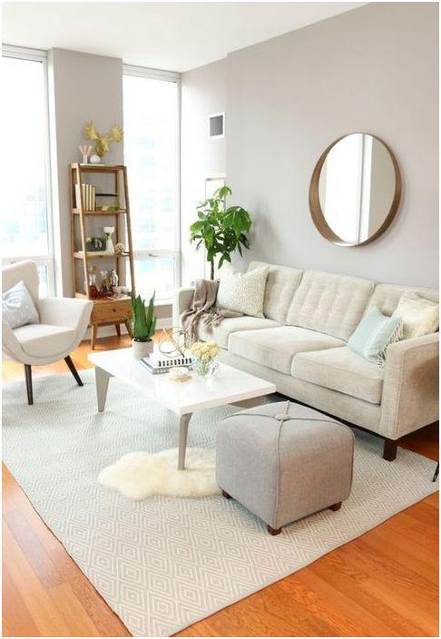 Меблировка небольшой гостиной