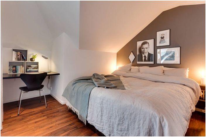 Интериор на малката спалня