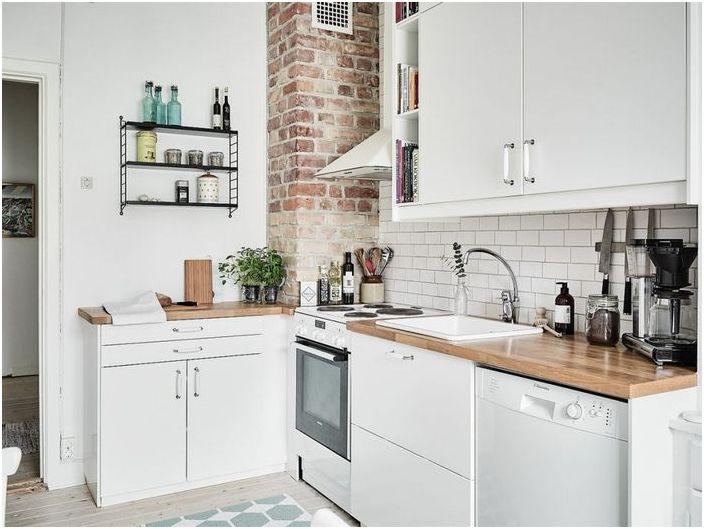 Кратки решения за малка кухня