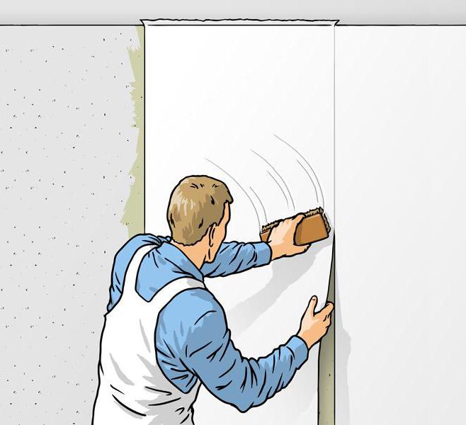 Jak przykleić tapetę do ścian