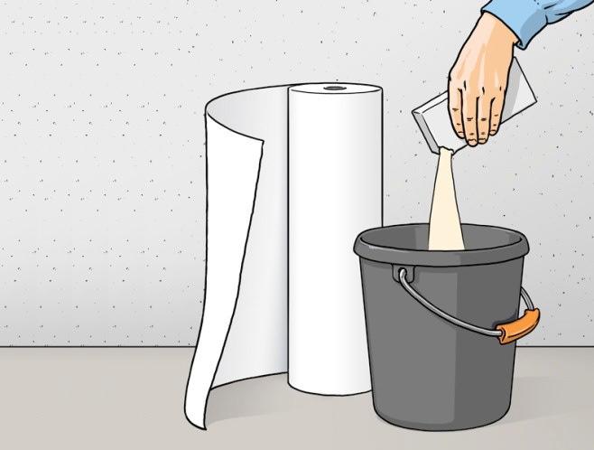 Как поклеить обои на стены