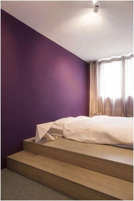 Успокояващи цветове в спалнята