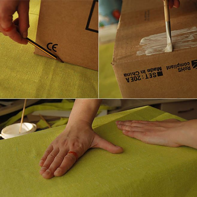 как сделать коробку для хранения своими руками