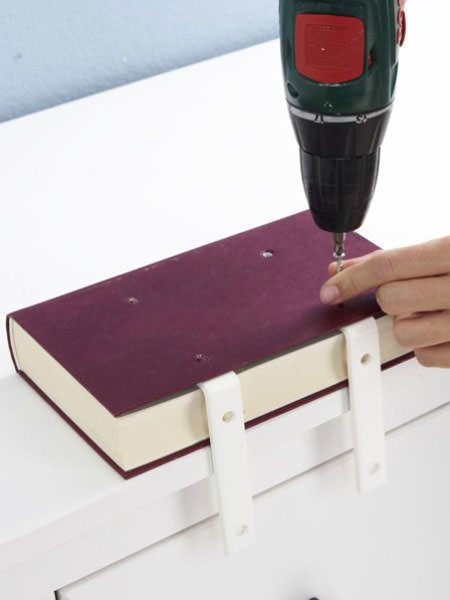 półka na książki zrób to sam