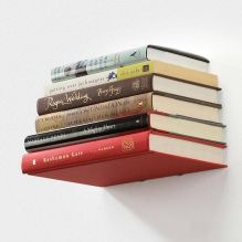 Jak zrobić niewidzialną półkę z książki własnymi rękami? -3