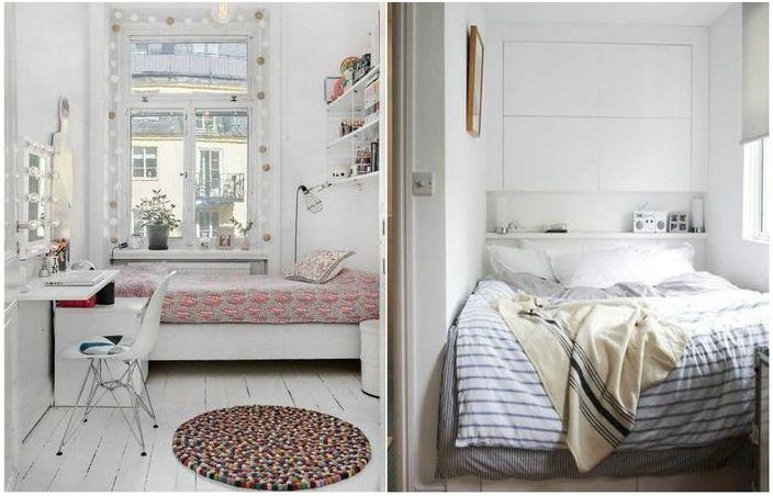 Как визуално да уголемите спалнята?