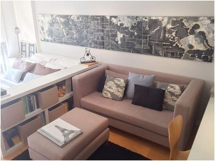 Des solutions intéressantes pour un petit appartement