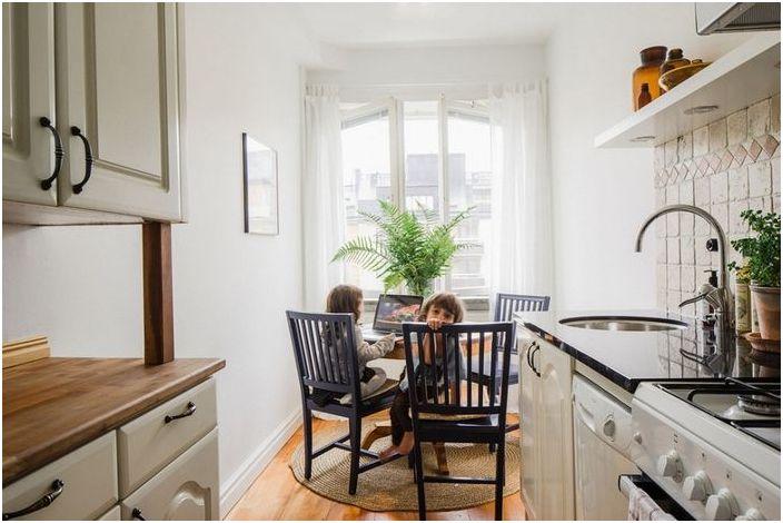 Кухня в малък апартамент