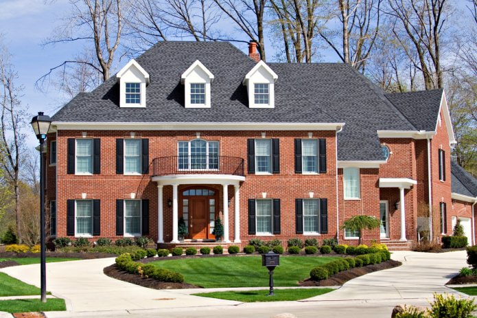 Тухлени фасади на къщи: снимки, предимства и недостатъци