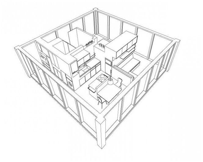 mały budynek mieszkalny