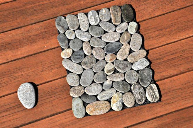 Tapis en pierre