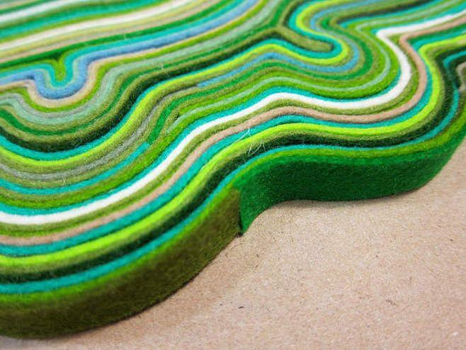 tapis en feutre