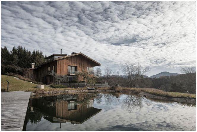 Zdjęcie domu w górach