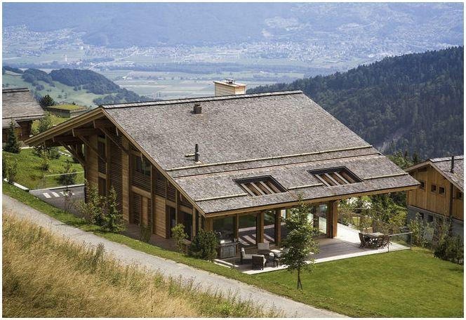 piękny dom w górach