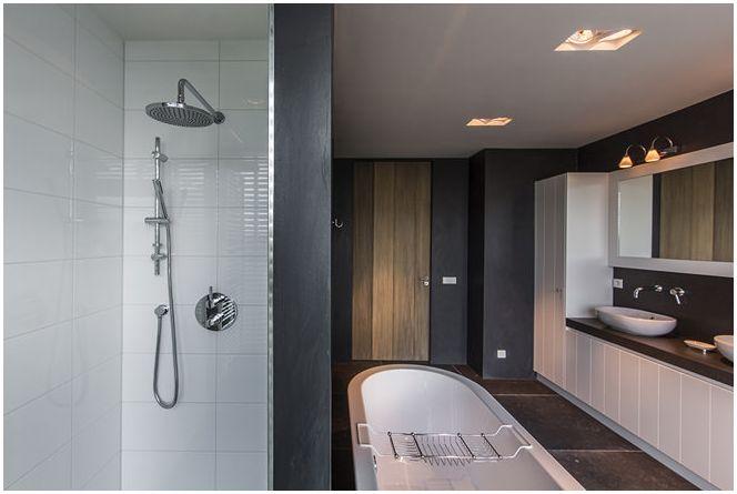 красив дизайн на баня