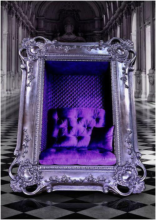 Луксозно кресло под формата на картина