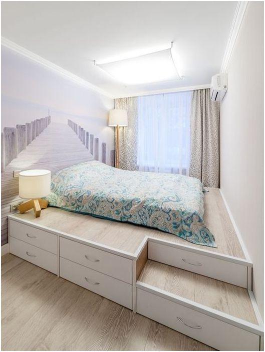 Piękna i jasna sypialnia