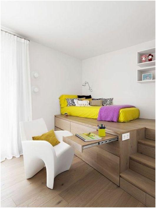 Łóżko-stół-szafa