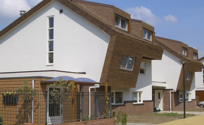 тръстиков покрив