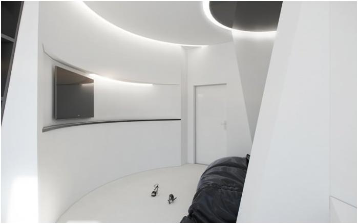 дизайн на кръгла стая