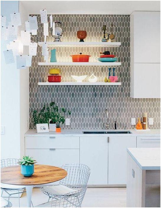 Кухненска престилка, която е интериорна декорация