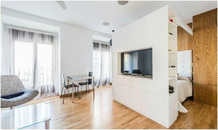 Mieszkanie o minimalistycznym wystroju