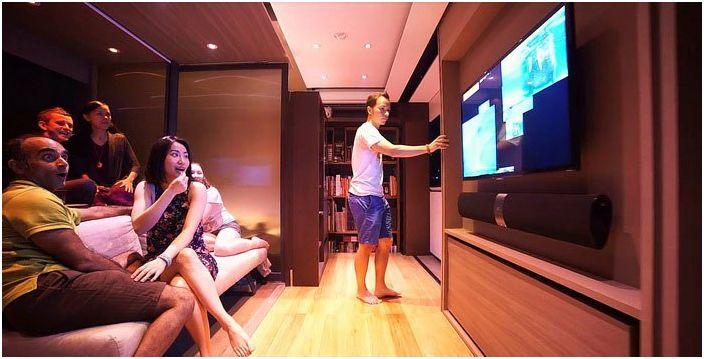 Квартира-трансформер площадью всего 28 кв. метров.