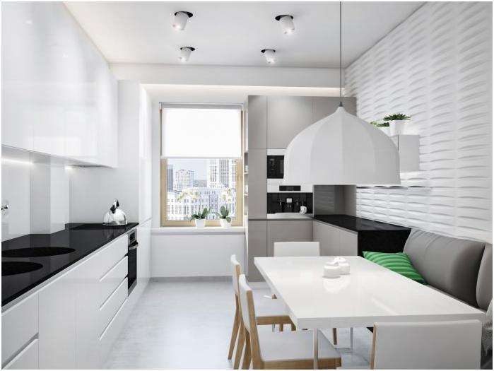 styl minimalizmu we wnętrzu kuchni