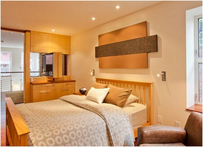 Украсете спалнята красиво с хладни стенни светлини, които придават уют и атмосфера на салона.