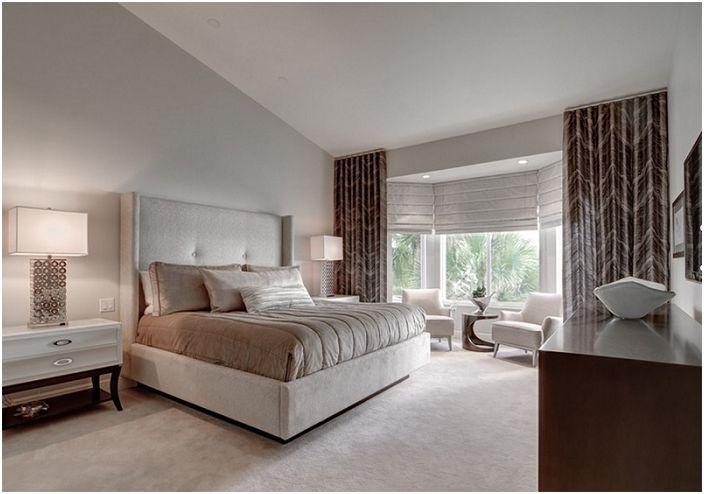 Красиви подови лампи, които са подходящи за декориране на интериора на всяка спалня и ще бъдат отлично допълнение към мястото за релакс.