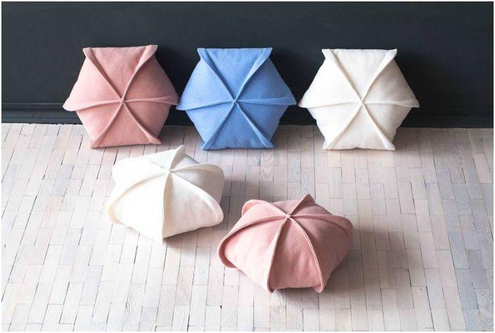 Декоративни възглавници от филц.