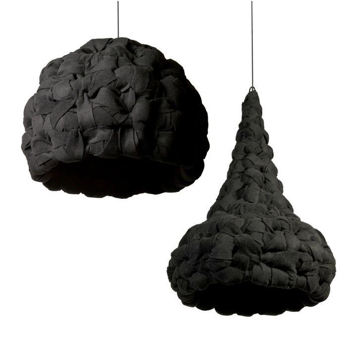 Дизайнерски лампи от филц.