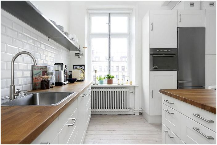 Уютная скандинавская кухня