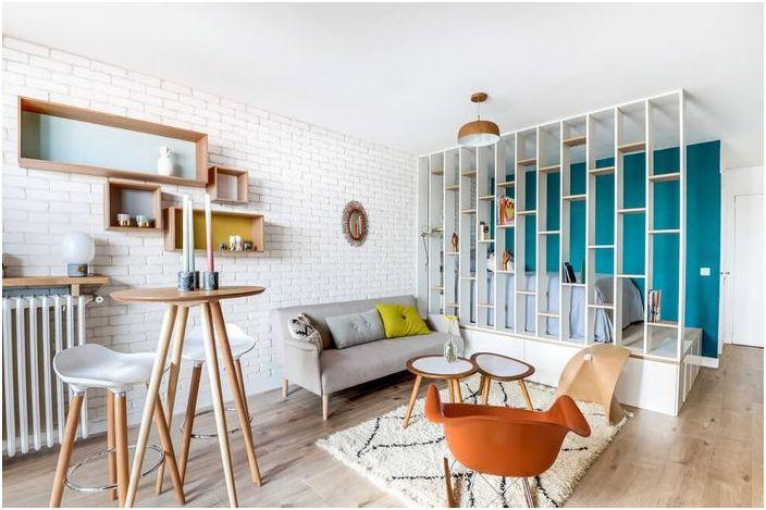 Małe wnętrze mieszkania
