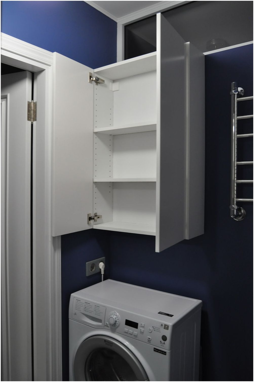 Mała łazienka z kącikiem prysznicowym o powierzchni 3 m2 m.