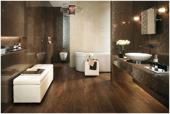 материал за пода в банята