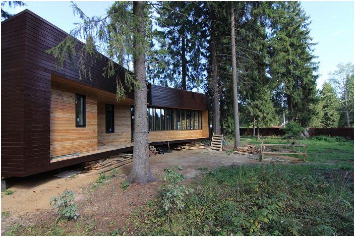 Maison modulaire d'une superficie de 75,3 m2 mètres.