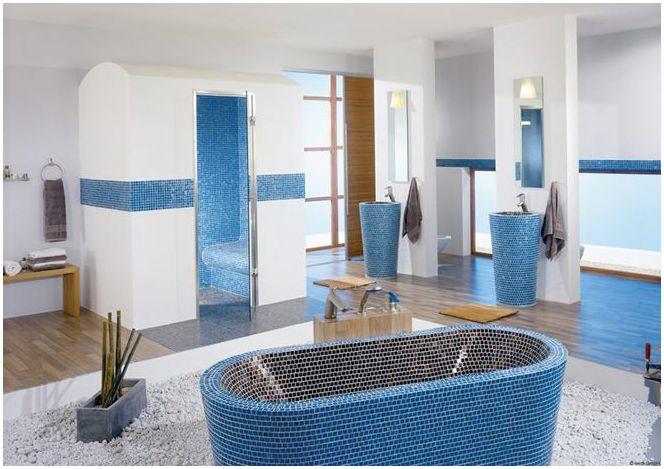 синя баня