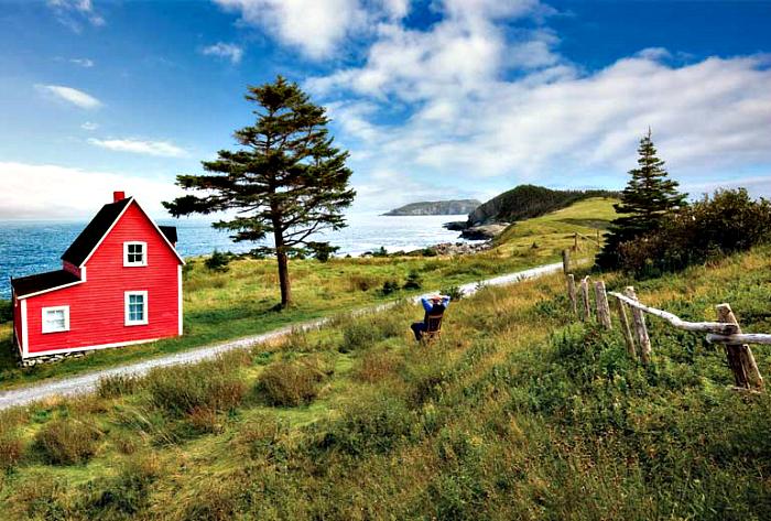 Czerwony Dom w Thors Cove.