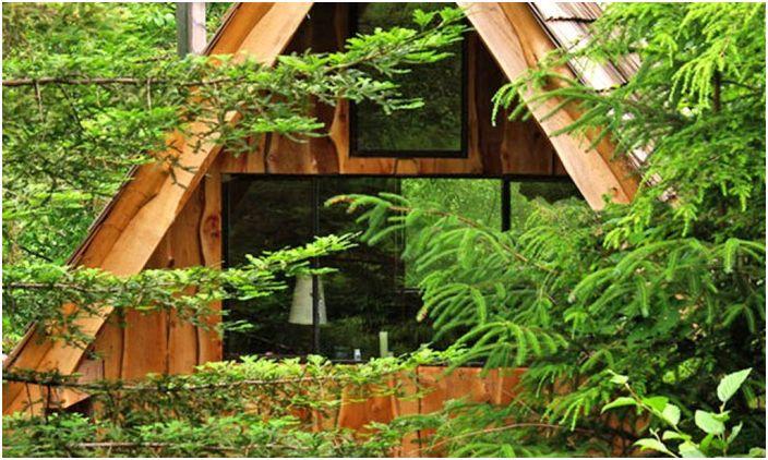 Японска горска къща е къща с площ само 20 кв. м.