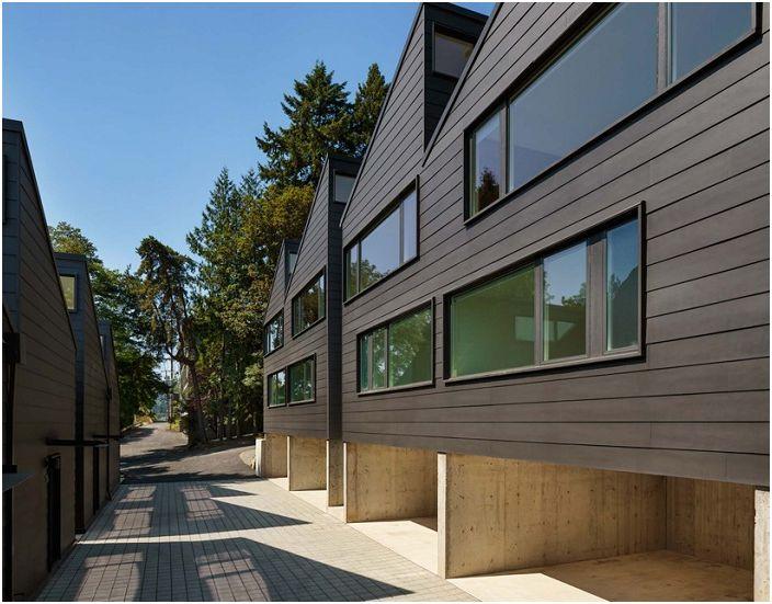 Projekt architektoniczny Waecher Architecture.