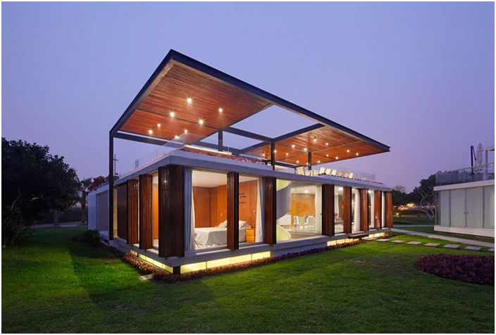 Willa zaprojektowana przez architekta Jorge Marsino Prado.