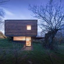 Lite moderne flatt takhus av ch + qs arquitectos-5
