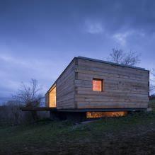 Liten moderne flatt takhus av ch + qs arquitectos-6