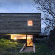 Lite moderne flatt takhus av ch + qs arquitectos-8