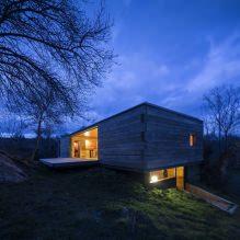 Lite moderne flatt takhus av ch + qs arquitectos-10