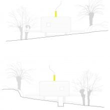 Lite moderne flate takhus av ch + qs arquitectos-17