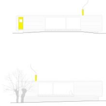 Liten moderne flatt takhus av ch + qs arquitectos-18